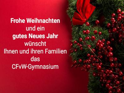 Frohe Weihnachten Und Schönes Neues Jahr.Frohe Weihnachten Und Ein Gutes Neues Jahr 2019 Cfvw Gymnasium